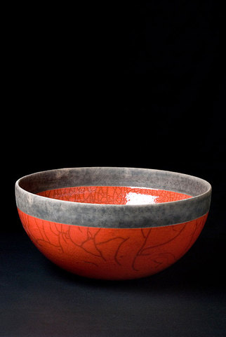 Minsk Dish 25cm D Red
