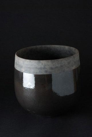 Minsk Pot Black 20Cm D