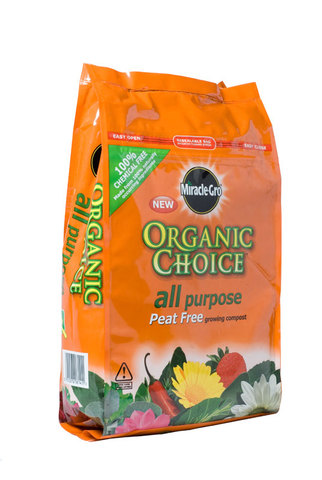 Miracle Gro Organic Plant Food Compost