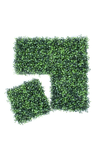 Artificial Boxwood Mat