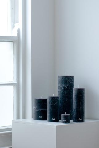 Ø7xH15cm - rustic candle