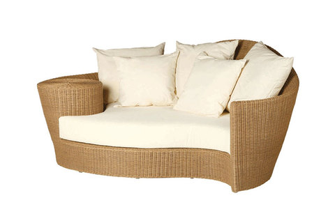 Dune Daybed and Ottoman Straw