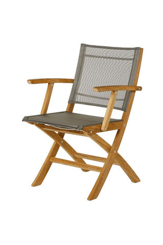 Horizon Folding Carver Chair (Titanium)