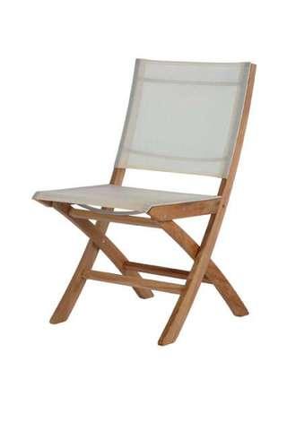 Horizon Folding Side Chair (Pearl)