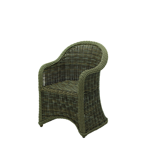 Havana Dining Chair with Arms - excl. cushions (Willow)