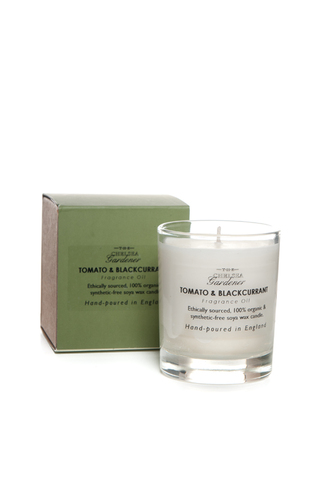 TCG Organic Scented Candle Jar 'Tomato & Blackcurrant'