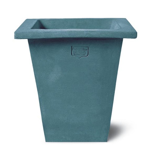 Tuscia Box pot 40cm Blue