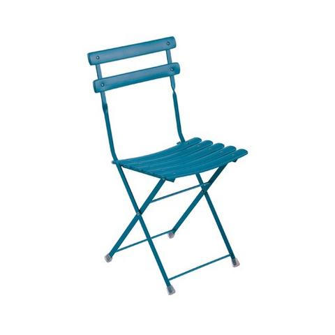 Arc en Ciel Folding Chair Blue