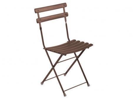 Arc en Ciel Folding Chair Bronze