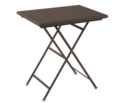 Arc en Ciel 70x50cm Table - Bronze