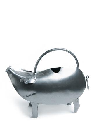 Pig Metal Watering Can 3L