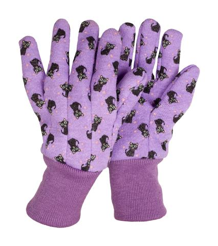 Cookie Cat themed children gardening gloves