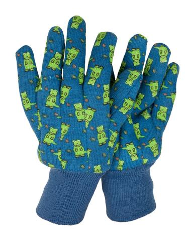 Dinosaur children gardening gloves