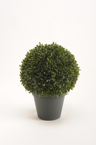 Artificial Boxwood Ball in pot D25 cm
