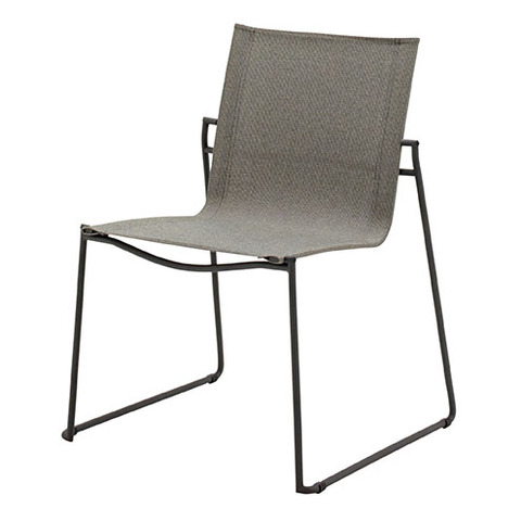 Asta Stacking Chair Meteor Frame With Granite Slings