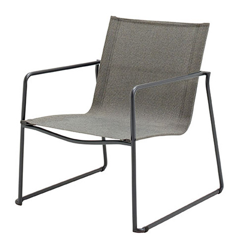 Asta Stacking Lounge Chair Meteor Frame With Granite Slings