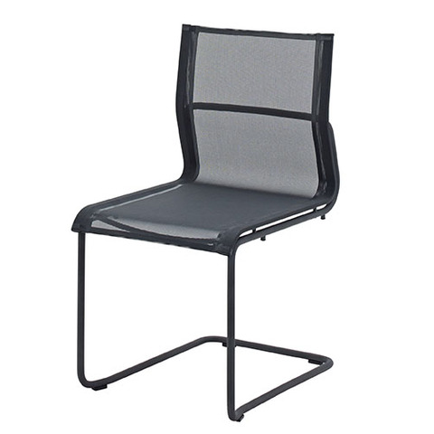 Sway Stacking Chair With Meteor Frame And Grey Slings
