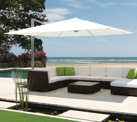 Kingston 4m Square Cantilever Parasol
