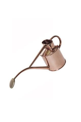 Indoor Metal Watering Can - Copper