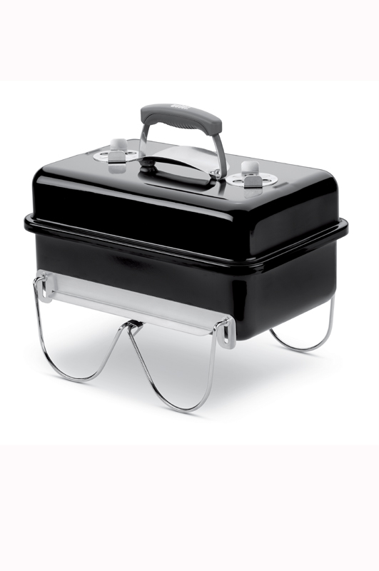 Go-Anywhere Charcoal BBQ - Black
