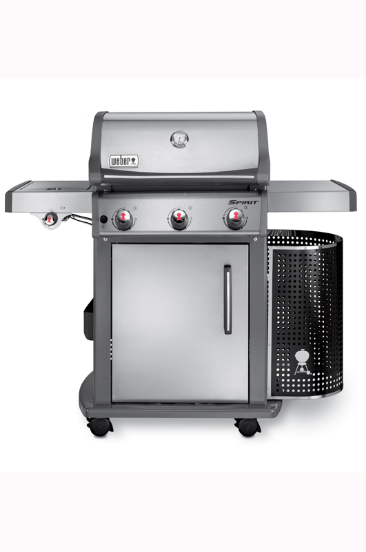 Spirit Premium S320 - Stainless Steel With GBS Grates