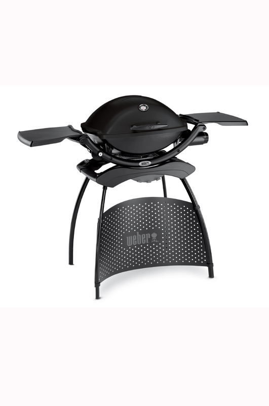 Q 2200 Midi Gas BBQ with stand - Black