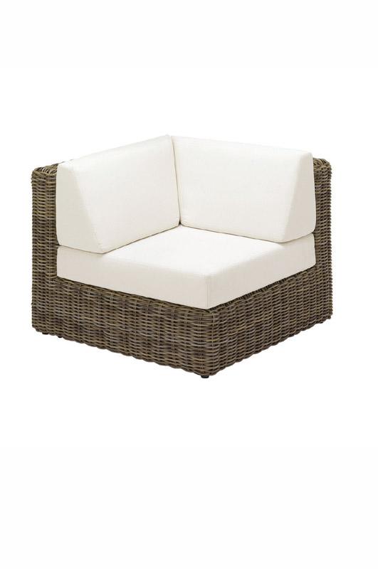 Havana Modular Left Corner Unit - including cushions (Willow)