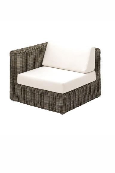 Havana Modular Left End Unit incl. cushions (Willow)