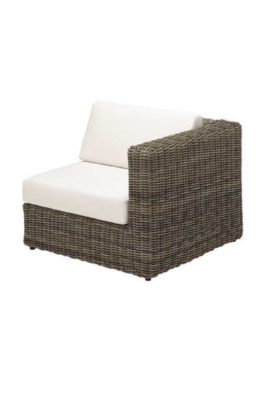 Havana Modular Right End Unit - including cushions (Willow)