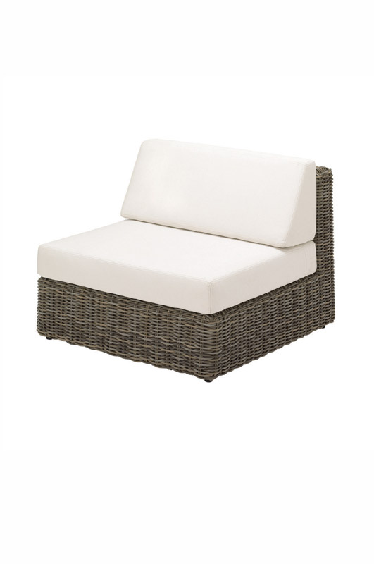 Havana Modular Centre Unit - including cushions (Willow)