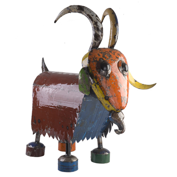 Billy the Goat Sculpture - medium