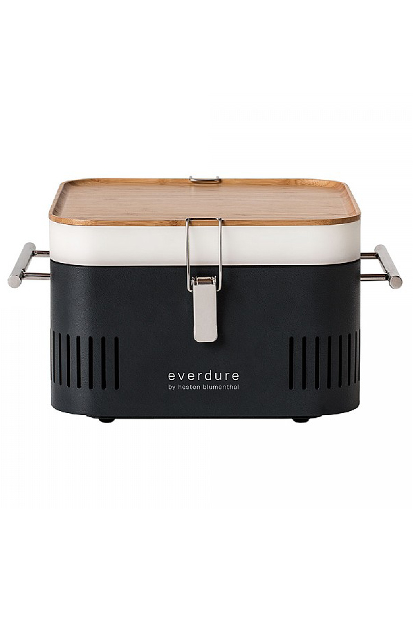 CUBE Charcoal Portable Barbeque Graphite