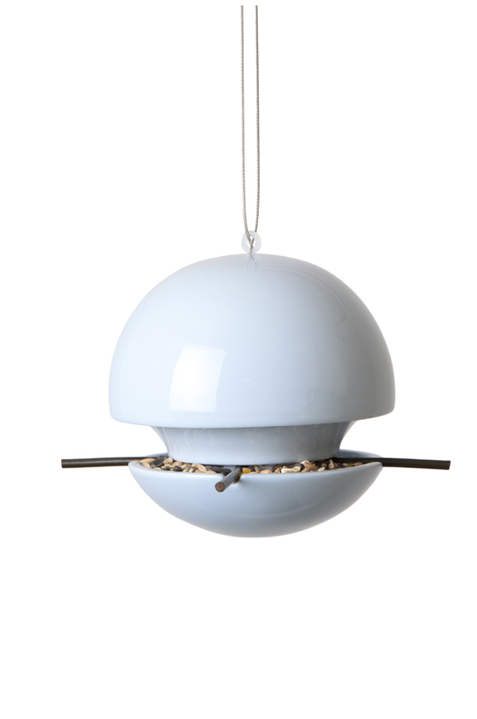 Birdball Seed Feeder Blue