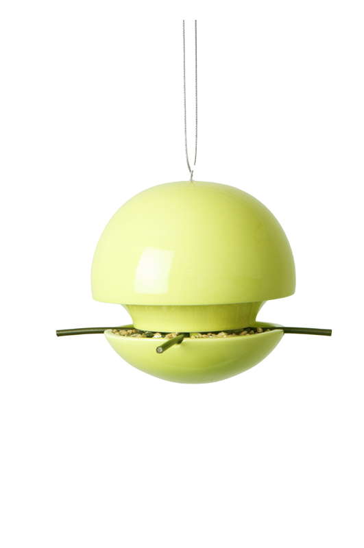 Birdball Seed Feeder Lime