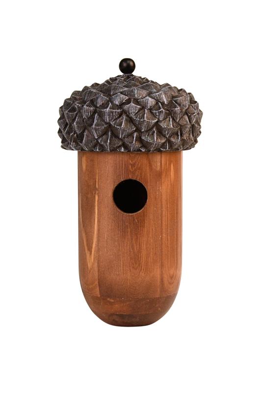 Wren Bird House Acorn