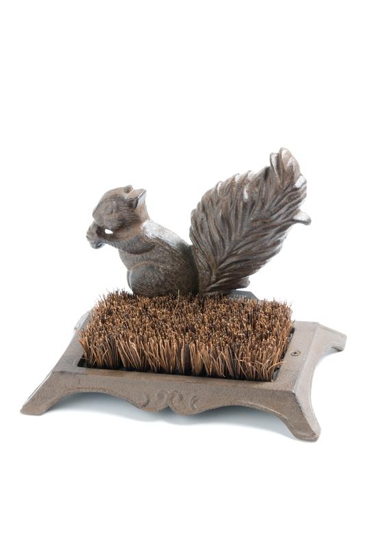 Squirrel Boot Brush