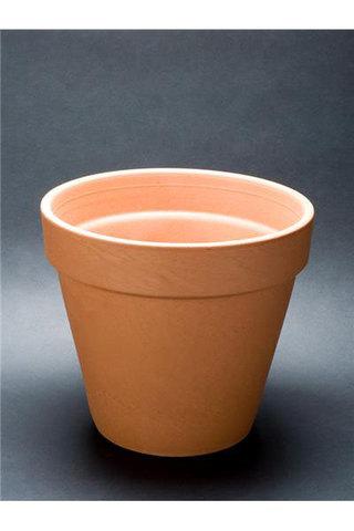 Basic terracotta pot 13cm