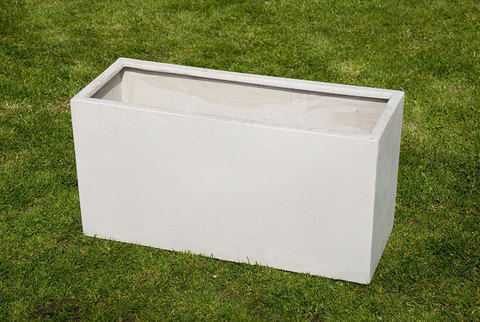 Jumbo Trough White 100cm
