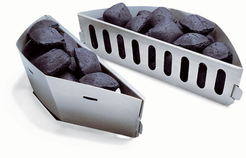Char-Baskets - Fits 57Cm Charcoal Barbecues And Up, 2Pcs