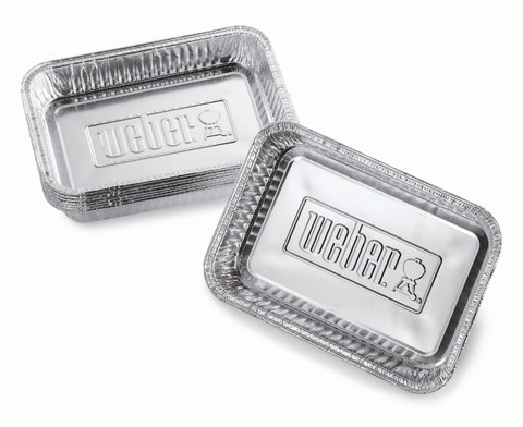 Drip Pans - Small, 10 Pcs, Fits Q, Spirit, Genesis®, Genesis® Ii 200 And 300 Series And Pulse Barbecues