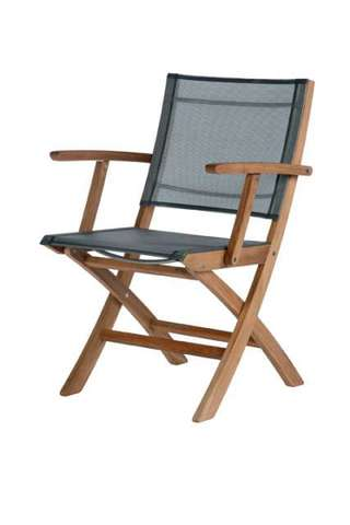 Horizon Folding Carver Chair (Platinum)