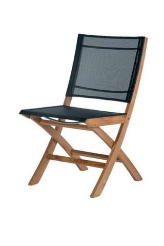 Horizon Folding Side Chair (Charcoal)
