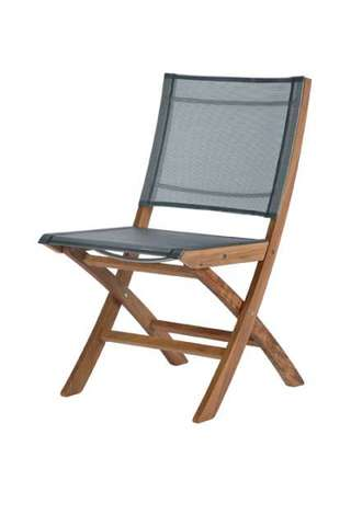 Horizon Folding Side Chair (Platinum)