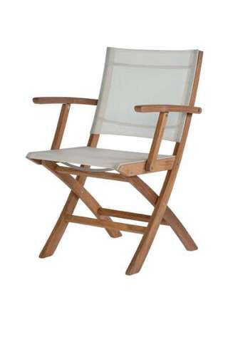 Horizon Folding Carver Chair (Pearl)