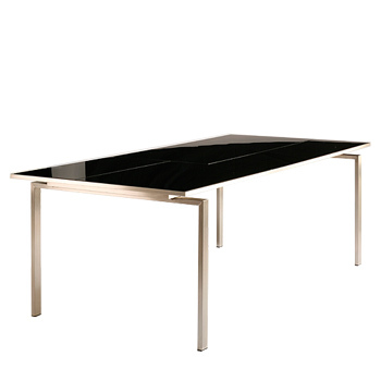 Mercury 220cm Dining Table (charcoal)