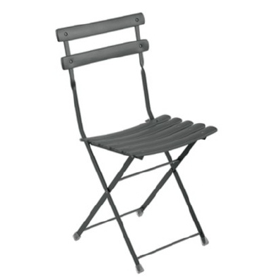 Arc en Ciel Folding Chair - Antique Iron