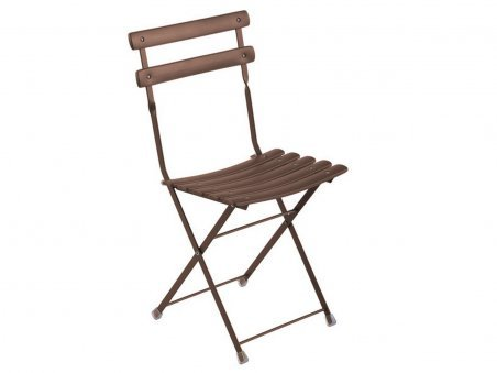 Arc en Ciel Folding Chair Bronze