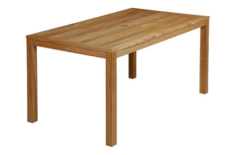 Linear Teak Dining Table 150x89cm