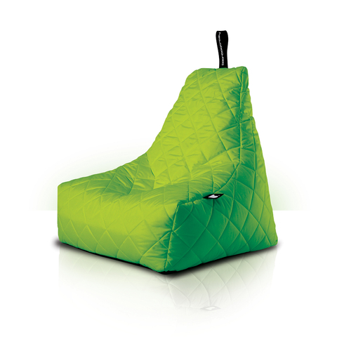 Mighty Bean Bag Quilted Poly Lime
