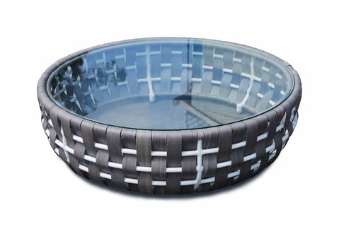 Strips Round Coffee Table